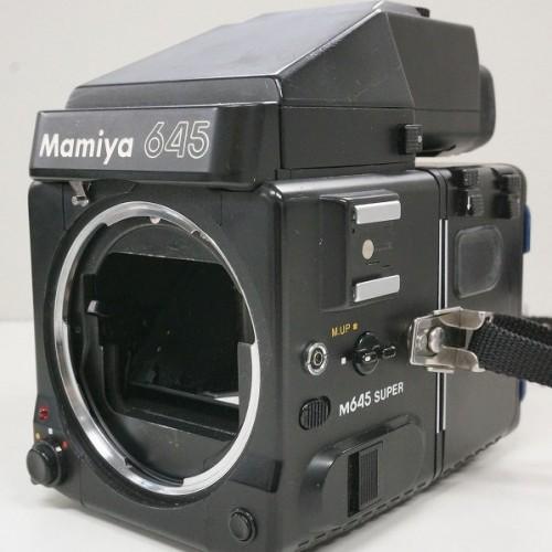 マミヤの中判カメラ「645 ボディ + AE PRISM FINDER」買取実績