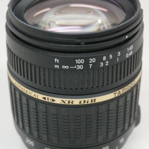 タムロンのレンズ「AF18-200mm F3.5-6.3 XR DiⅡ LD ASPHERICAL(IF) MACRO」買取実績