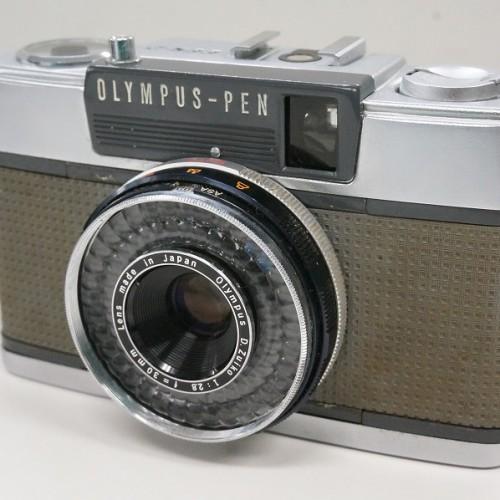 オリンパスのコンパクトカメラ「PEN EES-2」買取実績
