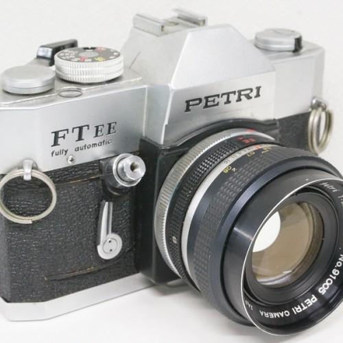 ペトリのフィルム一眼レフカメラ「FT EE  55mm F1.8 レンズ」買取実績