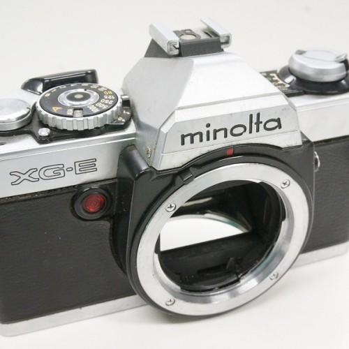 ミノルタのフィルム一眼レフカメラ「XG-E ボディ」買取実績