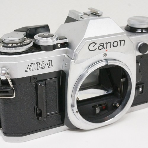 キャノンのフィルム一眼レフカメラ「AE-1」買取実績