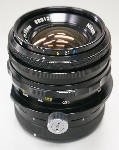 ニコンのレンズ「NIKON PC-NIKKOR 35mm F2.8」買取実績