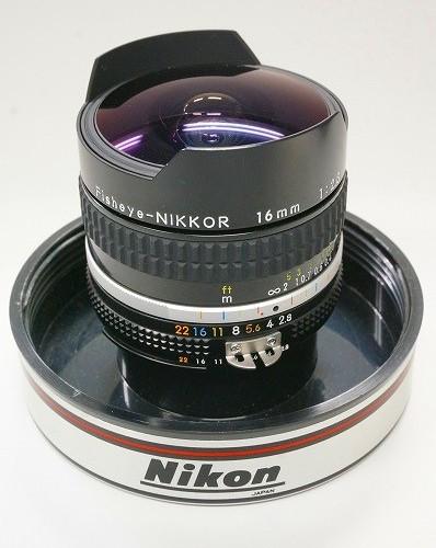 ニコンのレンズ「Ai-S FISHEYE-NIKKOR 16mm F2.8」買取実績