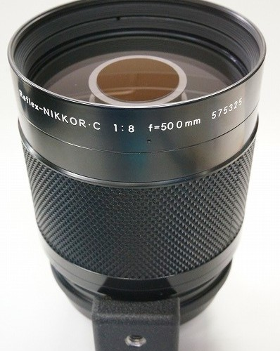 ニコンのレンズ「Reflex NIKKOR C 500mm F8」買取実績