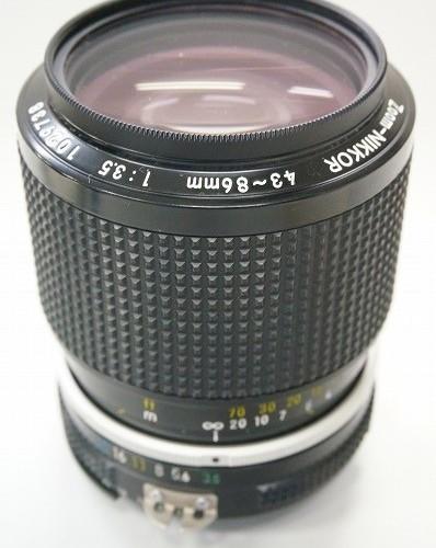 ニコンのレンズ「Zoom-NIKKOR 43-86mm F3.5」買取実績