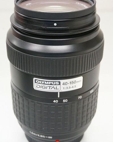 オリンパスのレンズ「ZUIKO DIGITAL 40-150mm F3.5-4.5」買取実績