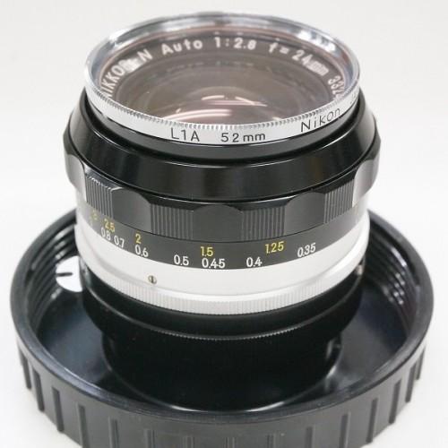ニコンのレンズ「NIKKOR-N AUTO 24mm F2.8」買取実績