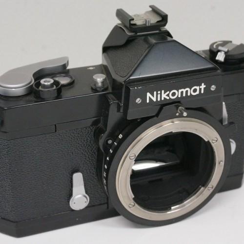 ニコンのフィルム一眼レフカメラ「Nikomat FTN ブラック」買取実績