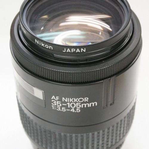 ニコンのレンズ「AF NIKKOR 35-105mm F3.5-4.5」買取実績
