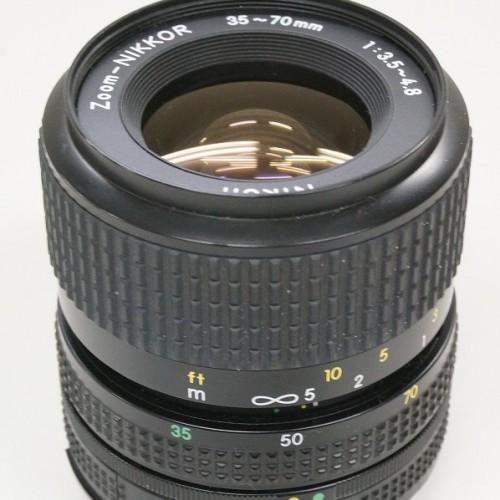 ニコンのレンズ「Zoom-NIKKOR 35-70mm F3.5-4.8」買取実績