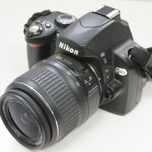 ニコンのデジタル一眼レフカメラ「D40X ダブルズームキット」買取実績