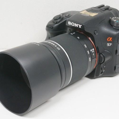 ソニーのデジタル一眼レフカメラ「α57 ダブルズームキット SLT-A57Y」買取実績
