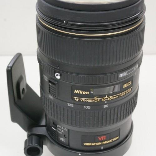 ニコンのレンズ「Ai AF VR 80-400mm F4.5-5.6D ED」買取実績