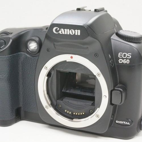キャノンのデジタル一眼レフカメラ「EOS D60 ボディ」買取実績