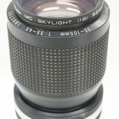 ニコンのレンズ「Zoom NIKKOR 35-105mm F3.5-4.5」買取実績