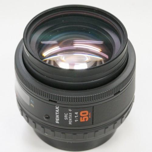 ペンタックスのレンズ「smc PENTAX F 50mm F1.4」買取実績