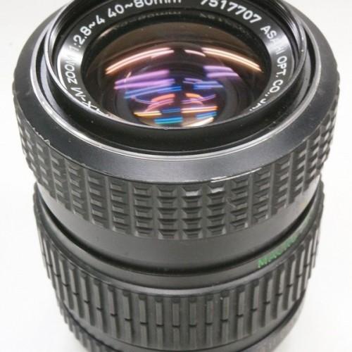 ペンタックスのレンズ「smc PENTAX-M Zoom 40-80mm F2.8-4」買取実績