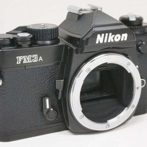 ニコンのフィルム一眼レフカメラ「FM3A」買取実績