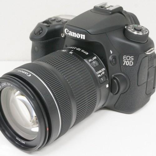 キャノンのデジタル一眼レフカメラ「EOS70D EF-S18-135 IS STM KIT」買取実績