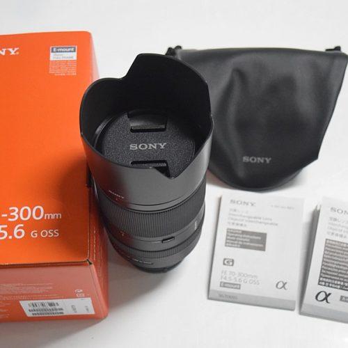 カメラ買取実績紹介「ソニー FE 70-300mm F4.5-5.6 G OSS SEL70300G」