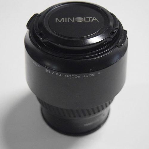 カメラ買取実績紹介「ミノルタ レンズ AF SOFT FOCUS 100mm F2.8」