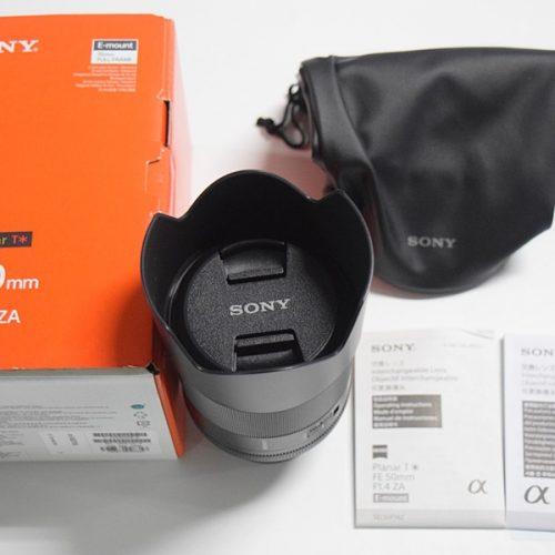 カメラ買取実績紹介「ソニー FE 50mm F1.4 ZA SEL50F14Z」