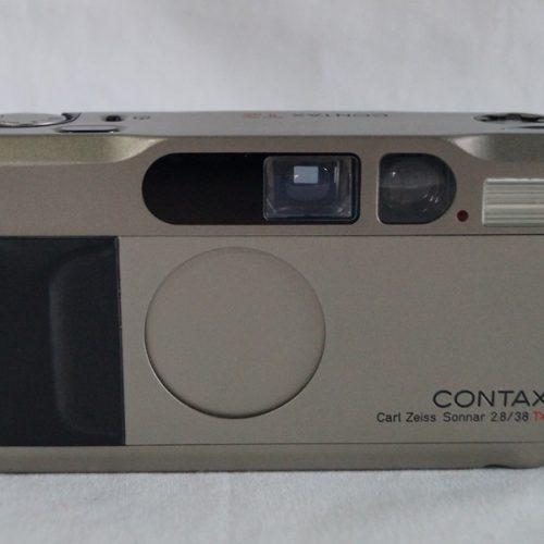 カメラ買取実績紹介「コンタックス T2ボディ CarlZeiss Sonnar2.8/38T*」