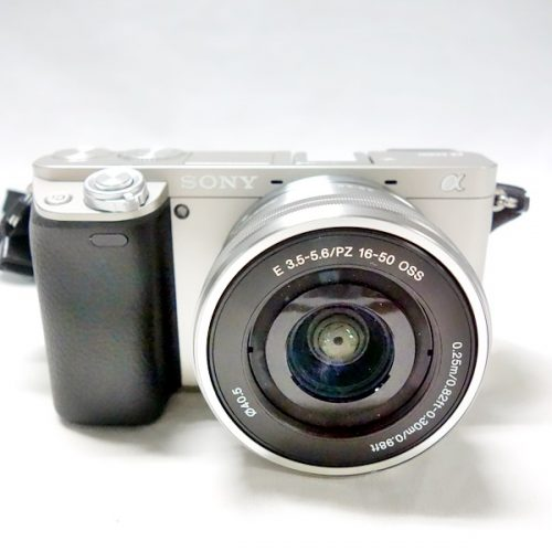 カメラ買取実績紹介「ソニー a6000 E 16-50m F3.5-5.6 OSS レンズキット」