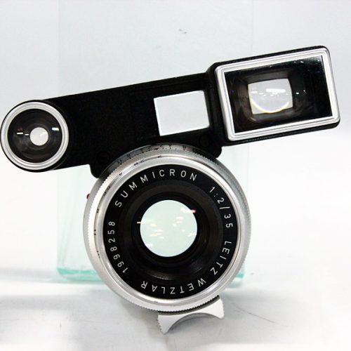 カメラ買取実績紹介「ライカ SUMMICRON 1:2/35 1998258 メガネ付き シルバー」