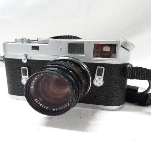 カメラ買取実績紹介「ライカ M4 + SUMMICRON 50mm F2」
