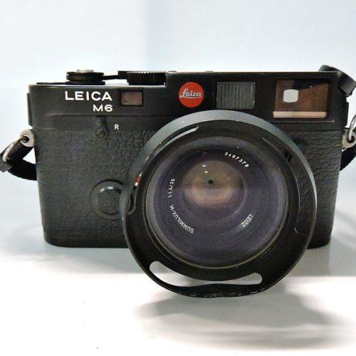 カメラ買取実績紹介「ライカ M6 ボディ Black + SUMMILUX-M 35mm」