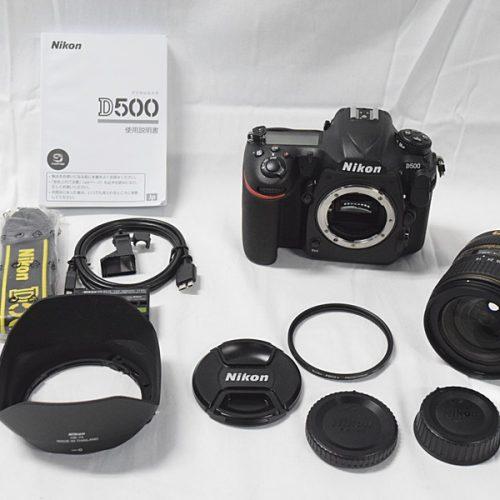 カメラ買取実績紹介「ニコン(NIKON) D500 16-80 レンズキット」
