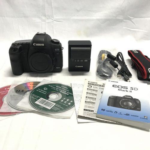 カメラ買取実績紹介「キャノン(CANON)  EOS 5D Mark II ボディ」
