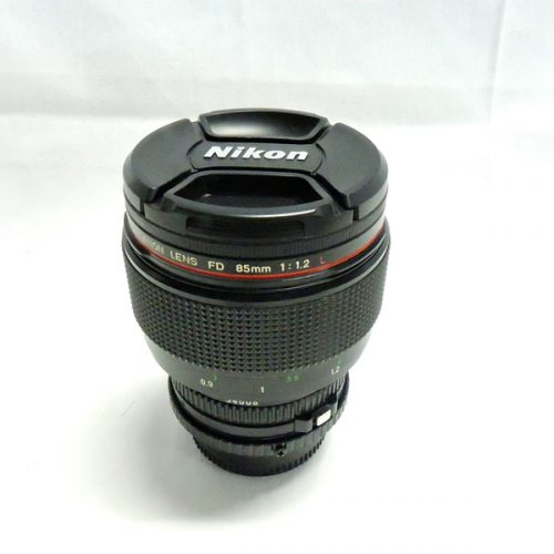 カメラ買取実績紹介「キャノン(CANON) FD 85mm 1:1.2 L + FD-M4/3 マウントアダプター」