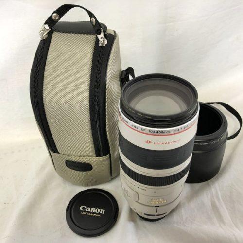 カメラ買取実績紹介「キャノン(CANON)  EF 100-400mm 1:4.5-5.6L IS USM」