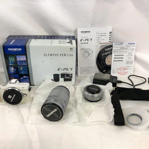 カメラ買取実績紹介「オリンパス(OLYMPUS) PEN Lite E-PL7 EZダブルズームキット」