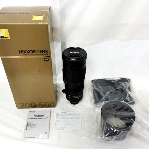 カメラ買取実績紹介「NIKON(ニコン)AF-S NIKKOR 200-500mm 1:5.6E ED VR」