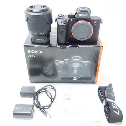 カメラ買取実績紹介「ソニー(SONY) α7III ボディ ICEL-7RM3K 28-70 ズームレンズキット」