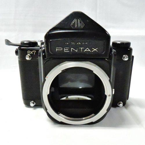 カメラ買取実績紹介「ペンタックス(PENTAX)6x7ボディ 初期型 アイレベル」