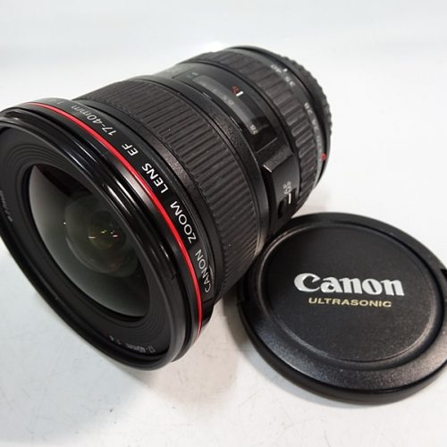カメラ買取実績紹介「キャノン(CANON)  EF 17-40mm F4 L USM レンズ」