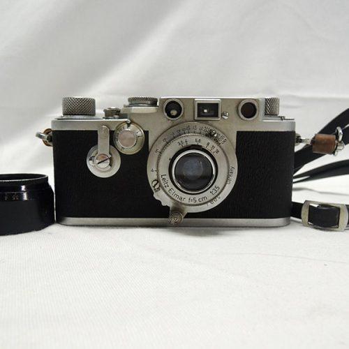 カメラ買取実績紹介「ライカ(LEICA)  DRP Elmar 5cm F3.5」
