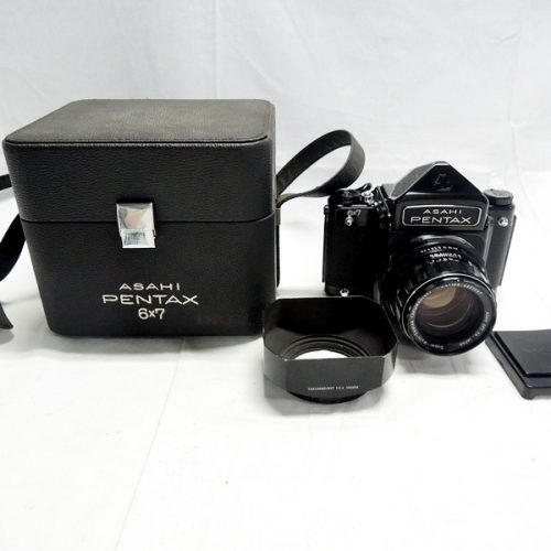カメラ買取実績紹介「ペンタックス(PENTAX)6×7 ボディ 初期型 + 105mm F2.4」
