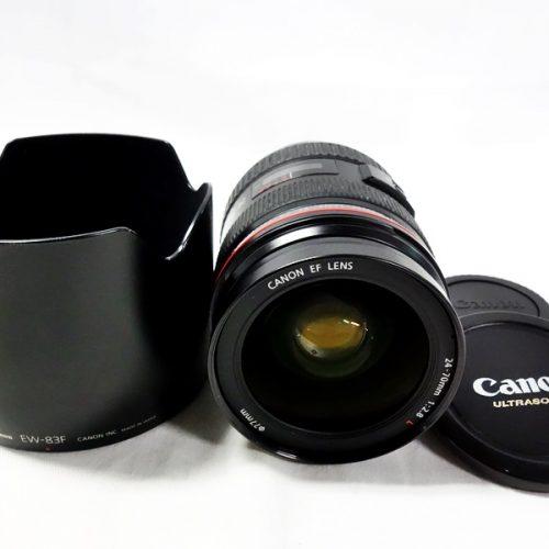 カメラ買取実績紹介「キャノン(CANON)  EF 24-70mm F2.8L USM」