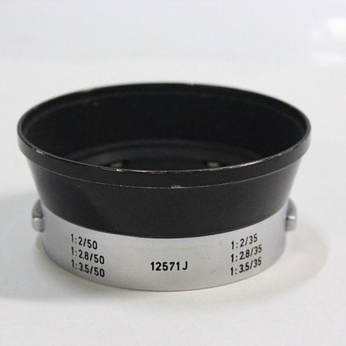 カメラ買取実績紹介「ライカ(LEICA)  12571J 50/35mm用 メタル レンズフード」