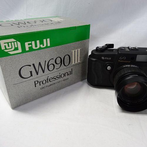 カメラ買取実績紹介「フジフィルム(FUJIFILM) GW690III 90mm」