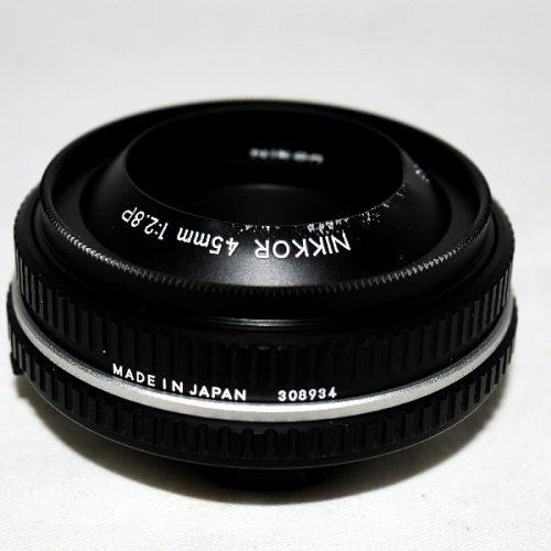 カメラ買取実績紹介「NIKON ニコン NIKKOR 45mm 1:2.8P」
