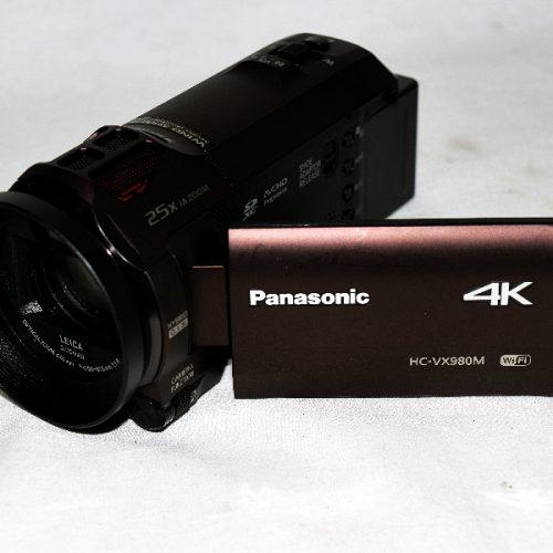パナソニック 4K HC-VX980M ビデオカメラ