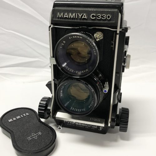 カメラ買取実績紹介「MAMIYA マミヤ C330 Professional f ボディ + 80mm レンズ」