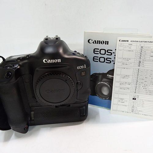 カメラ買取実績紹介「CANON キャノン EOS-1 V ボディ パワードライブブースター PB-E2付属」